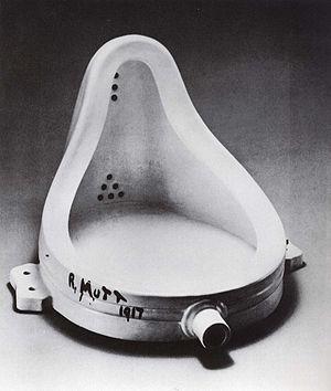 Español: Marcel Duchamp Pisuar, 1916-17