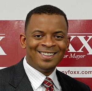 English: Anthony Foxx, Democrat, mayor of Char...