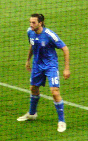Sotirios Kyrgiakos Greece vs moldova