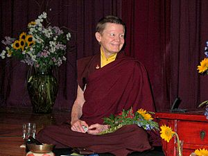 Pema Chodron At the Omega Institute, May 2007.