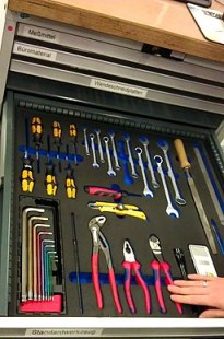 5S Tools drawer