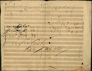 Piano Sonata in A Major, op. 101, Allegro: man...