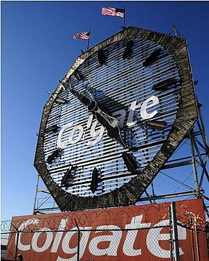 Colgate Clock Jersey City (1 of 2) (3157735699)