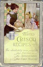 Cover of original Crisco cookbook, 1912