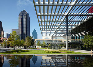 The Winspear Opera House and the Meyerson Symp...