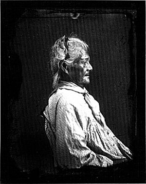 English: Photograph of an Old Hawaiian woman b...