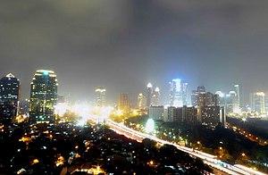 Downtown Jakarta Skyline