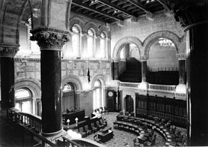 New York State Senate Chamber in the New York ...