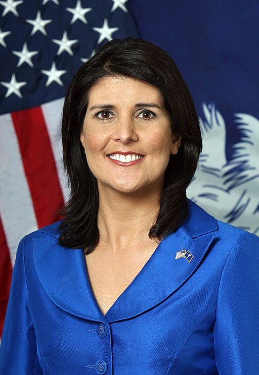 Nikki Haley official portrait