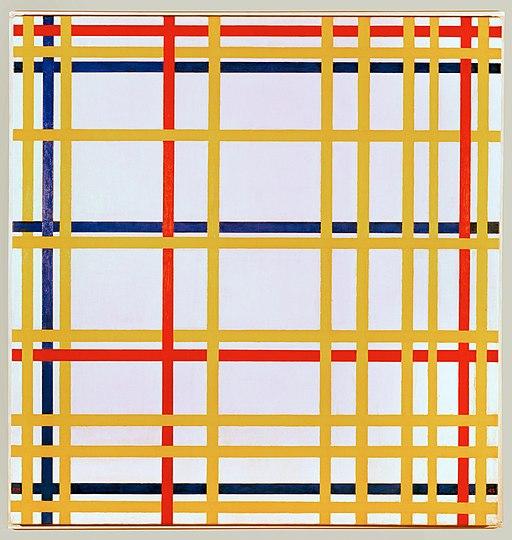Piet Mondriaan New York City