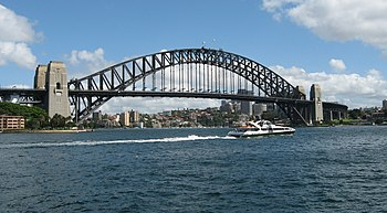 Sydney Harbour Bridge, Sydney, Australia.