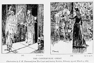 The Canterville Ghost by Oscar Wilde - Illustration