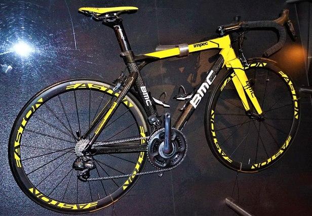 Tour de France winning Bicycle