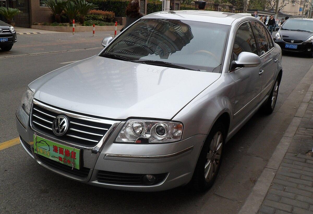 Volkswagen Passat Lingyu Wikipedia