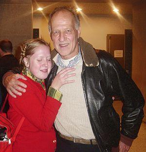 Filmmaker Werner Herzog at the US premiere of ...