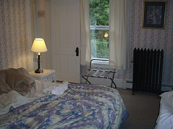 Adirondack Hotel room