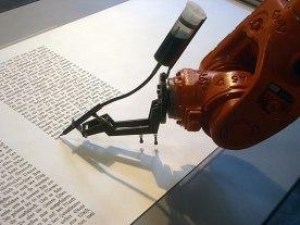 Bios robotlab writing robot