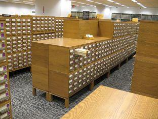 Copyright Card Catalog Files