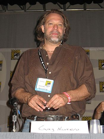 Gregory Nicotero attending the 2007 Comic Con ...