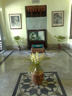 The location where brilliant Indian poet and N...