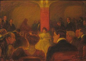 Leonid Pasternak. Concert of Wanda Landowska i...