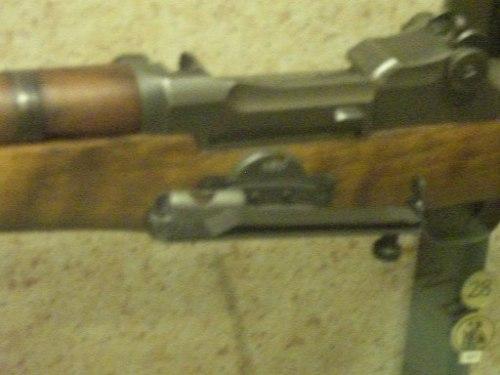 M1 Garand grenade sight