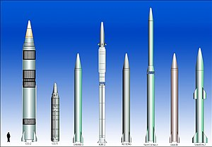 MRBM (Medium range ballistic missiles) and IRB...