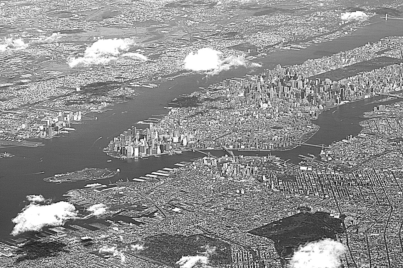 File New York City From Above 2009 12 10 Jpg Wikimedia