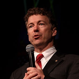 English: United States Senator Rand Paul speak...