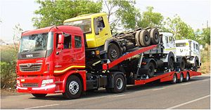 English: Tata Prima Truck by Tata Motors