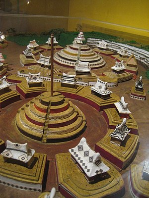 A reconstruction of 'Circle 2' (in foreground)...