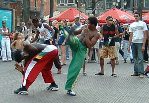 Capoeira on the Streets
