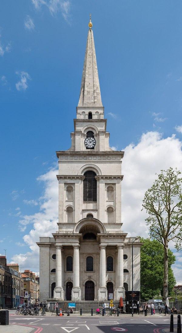 Christ Church, Spitalfields - Wikipedia