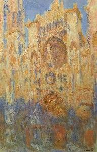 Claude MONET - Cathédrale de Rouen, effet de soleil, fin de journée (1892-1894)