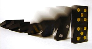 Cropped version of :Image:Domino effect.jpg