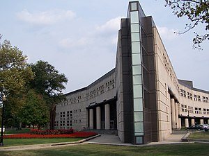 English: Drinko Hall: Home of the Ohio State U...