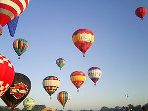 The Great Balloon Race at the Kentucky Derby F...