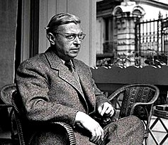 Photo of Sartre