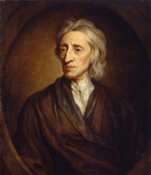 Portrait of John Locke, by Sir Godfrey Kneller...