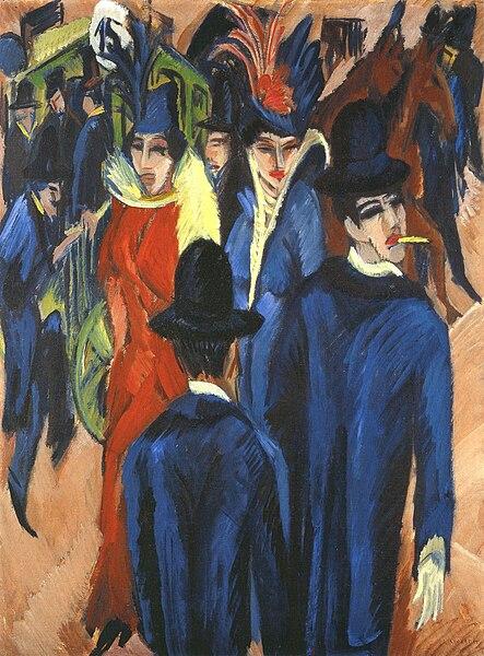 File:Kirchner Berlin Street Scene 1913.jpg