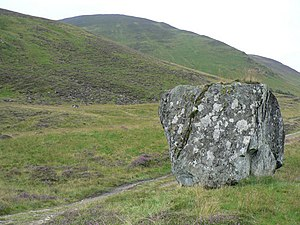 English: Large Rock Giant rock at the side of ...