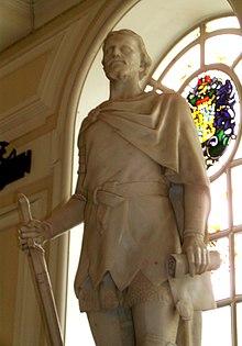 Escultura de Owain Glyndŵr de Alfred Turner (City Hall, Cardiff)