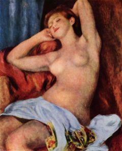 La baigneuse endormie, (1897)