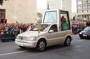 Pope Benedict XVI in São Paulo, Brazil