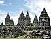 English: The 9th century Hindu Trimurti Pramba...
