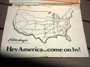 English: Stuckey's advertisement from 1976 Ran...