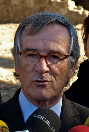 Catalan politician: Xavier Trias (CIU) at Park...