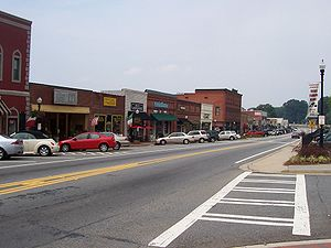 Photograph of Historic Downtown Acworth, Georg...
