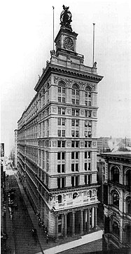 Clock Tower Building New York City which had been the original New York Life Insurance Building - redesigned by Stanford White firm