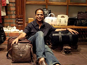 Dilip Kapur - the maker and his bags